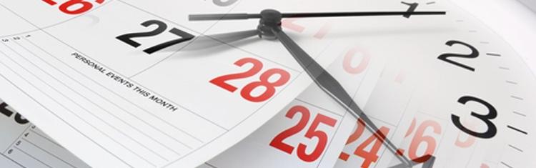 Calendário de candidaturas 2016/2018